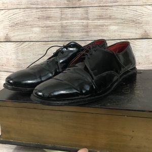 Men's Allen Edmonds Black Patent Leather 10.5D